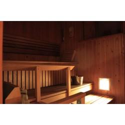Led Puitvõrega valgusti sauna