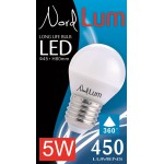 LED lamp 5W E27 MINI