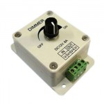 LED dimmer (valgusregulaator) ribale 12V 8A
