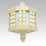 LED lamp 5W R7s Prožektorile 78mm