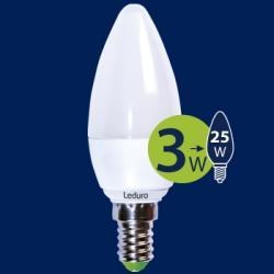 LED lamp 3W E14 küünal