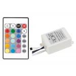 LED RGB Kontroller 6A 24 klahviline